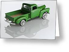 1951 Chevy Pick-up Greeting Card