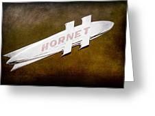 1951 Hudson Hornet Emblem Greeting Card