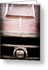 1953 Nash-healey Roadster Grille Emblem Greeting Card