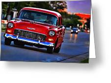 1955 Chevy Bel Air Greeting Card