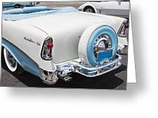 1956 Chevrolet Bel Air Convertible Greeting Card