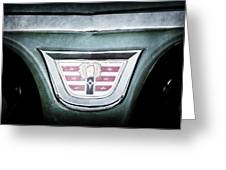1956 Dodge Emblem Greeting Card