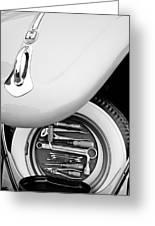 1956 Volkswagen Vw Bug Tool Kit Greeting Card