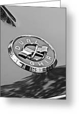 1957 Dual-ghia Convertible Emblem Greeting Card