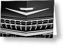 1959 Cadillac Eldorado Grille Emblem Greeting Card