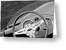1959 Devin Ss Steering Wheel Greeting Card