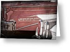 1960 Edsel Taillight Greeting Card