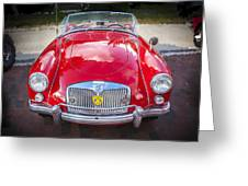 1960 Mga 1600 Convertible Greeting Card