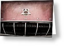 1962 Dodge Polara 500 Emblem Greeting Card