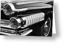 1962 Dodge Polara 500 Taillights Greeting Card