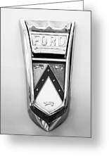 1963 Ford Falcon Futura Convertible  Emblem Greeting Card