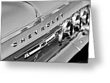 1964 Chevrolet Impala Taillights And Emblems Greeting Card
