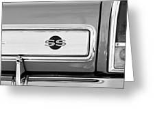 1966 Chevrolet II Ss L79 Taillight Emblem Greeting Card