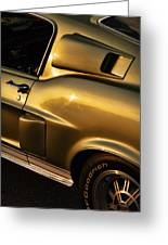 1968 Ford Mustang Shelby Gt 350 Greeting Card