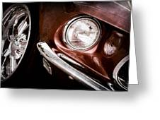 1969 Ford Mustang Mach 1 Front End Greeting Card