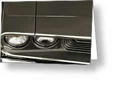 1970 Dodge Challenger R/t Greeting Card