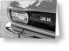 1971 Iso Grifo Can Am Taillight Emblem Greeting Card