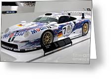 1998 Porsche 911 Gt1 Greeting Card