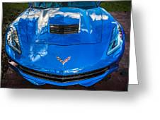 2014 Chevrolet Corvette C7   Greeting Card