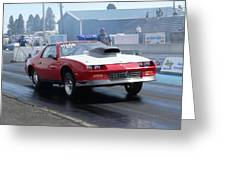 84 Camaro Greeting Card