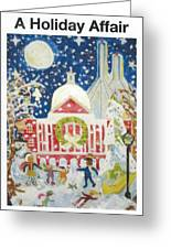 A Holiday Affair Greeting Card