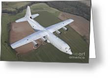 A Royal Air Force C130j Hercules  Greeting Card