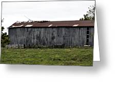 Abandoned Barn Kentucky Usa Greeting Card