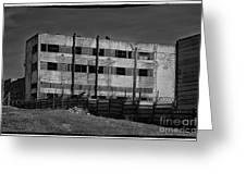 Abandoned Factory At Vadu Greeting Card by Gabriela Insuratelu