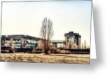Abandoned Sugarmill Greeting Card