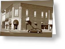 Abilene Kansas - 2nd And Broadway Greeting Card