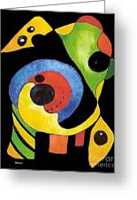 Abstract Dream Greeting Card