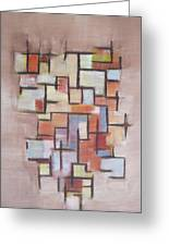 Abstract Line Series  Greeting Card