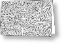 Abstract Urban City Building In Chaos Greeting Card