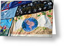 Aids Quilt -- 3 Greeting Card