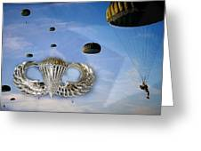 Airborne Greeting Card by JC Findley