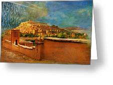 Ait Benhaddou  Greeting Card by Catf