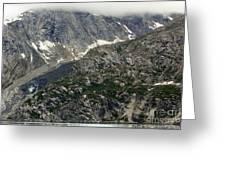 Alaska Glacier Greeting Card