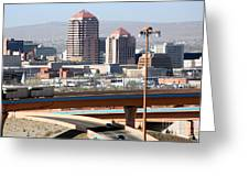 Albuquerque Skyline Greeting Card