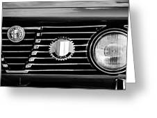 Alfa-romeo Grille Emblem Greeting Card