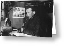 Alfred L Greeting Card