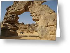 Algeria Desert Greeting Card