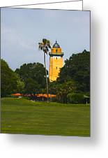 Alhambra Water Tower Greeting Card