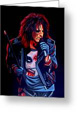 Alice Cooper  Greeting Card