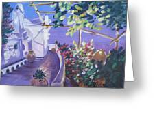 Amalfi Evening Greeting Card