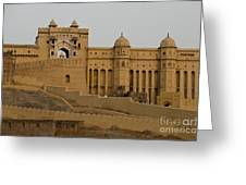 Amber Fort, India Greeting Card