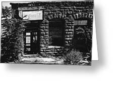 American Pool Hall Facade Version 1 Ghost Town Jerome Arizona 1968 Greeting Card