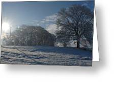 An Irish Winter Scene Greeting Card