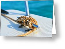 Anchor Line Greeting Card
