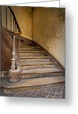 Ancient Staircase Greeting Card