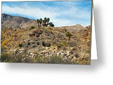 Andreas Canyon Dreams Greeting Card